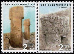 Turkey - 2019 - Göbekli Tepe - Potbelly Hill Archaeological Site - Mint Stamp Set - 1921-... Repubblica