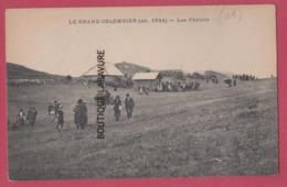 01 - LE GRAND COLOMBIER---Les Chalets--animé - Autres Communes