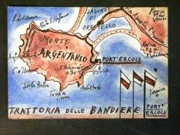TOSCANA -GROSSETO -PORTO ERCOLE MONTE ARGENTARIO -F.P. LOTTO N°185 - Grosseto