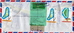 Postal History: Tuvalu Cover - Tuvalu