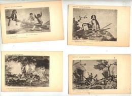 Lot 11 Carte Espagne  Oeuvre De Goya - Peintures & Tableaux
