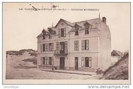 62 - LA PLAGE DE SAINTE CECILE / COLONIES MARRACCI - Autres Communes