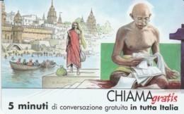 CHIAMAGRATIS SERIE PERSONAGGI- 106 GANDHI - Italie