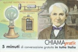 CHIAMAGRATIS SERIE PERSONAGGI- 99 EDISON - Italie