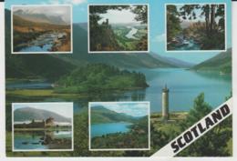 Postcard - Scotland Six Views - Card No..2sc246 - Unused Very Good - Cartoline
