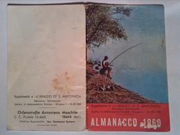 119)librettino Religioso Almanacco 1960 Orfanotrofio Antoniano Maschile - Religion