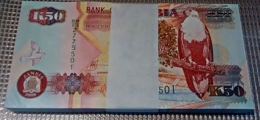 Zmb034 ZAMBIA 2008, 50 Kwacha, (BM Serial Numbers) Pack Of 100 As From Bank - Zambie