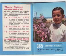 121)librettino Agendina La Madonna Delle Grazie Corato(bari) 1964 - Religion