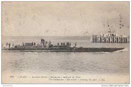 "62 - CALAIS / LE SOUS MARIN ""GERMINAL"" RENTRANT AU PORT - Calais"