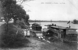 CPA Du Tonkin - Viétri. Le Port. Edition Dieulefits. N° 586. Non Circulée. TB état. - Vietnam