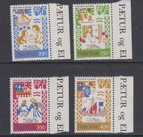 Faroe Islands 1982 Medieval Balad 4v ** Mnh (42571G) - Faeroër