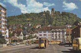 Chemins De Fer - Tramway - Allemagne - Karlsruhe-Durlach - Turmberg - Tramways
