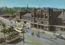 Chemins De Fer - Tramway - Allemagne - Mainz Mayence - Gare - Tramways