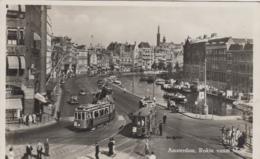 Chemins De Fer - Tramway - Pays-Bas - Amsterdam - Rokin Vanaf Munt - Tramways