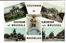 CPA- Carte Postale  -Belgique Bruxelles- Multi Vues  - VM2666 - Panoramische Zichten, Meerdere Zichten