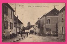 CPA (Ref: Z 1340) RIOZ (70 HAUTE SAÔNE) La Gendarmerie Et La Mairie - Autres Communes