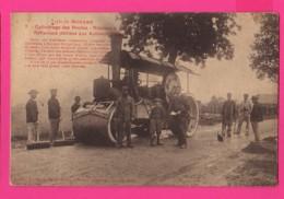 CPA (Ref: Z 1341)  (21 CÔTE D'OR) Type Du Morvan Cylindrage Des Routes - Rouleau à Vapeur (top Collection) - France