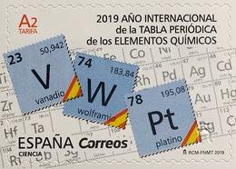 Spanien España 2019 Nr. 5318 Jahr Der Periodentabelle Der Chemischen Elemente - 1931-Heute: 2. Rep. - ... Juan Carlos I