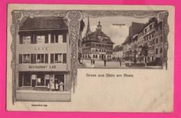 CPA (Ref: Z 1356) Gruss Aus Stein Am Rhein (SUISSE ) Restaurant Ilge - SH Schaffhouse