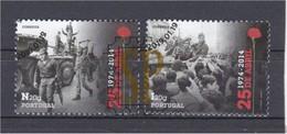 Portugal 2014 40 Anos 25 Abril Revolução Dos Cravos Revolución De Los Claveles Terreiro Do Paço Rua 1.º De Dezembro - Gebraucht
