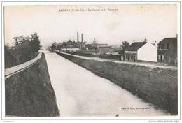 62 - ARDRES / LE CANAL ET LA SUCRERIE - Ardres