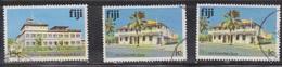 FIJI Scott # 416, 409 X 2 Used - Buildings - Fiji (...-1970)