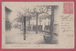 01 - PONT D'AIN---Une Rue---Précurseur - France