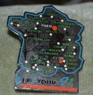Rare Grand Pin's Tour De France 91 Carte - Ciclismo