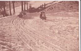 Carte 1920 Descente En Luge à Leysin - VD Vaud