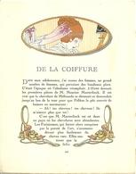 """3420 """"DA GAZETTE DU BON TON (PUBBL. DAL1912 AL1925)""""DE LA COIFFURE-DA PAG.205 A PAG.208-ORIGINALE - Libri, Riviste, Fumetti"""