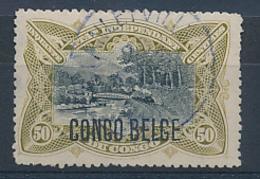 BELGIAN CONGO 1909 ISSUE COB 45  USED - Belgian Congo