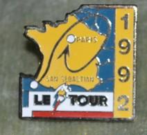 Rare  Pin's Tour De France 1992 - Ciclismo