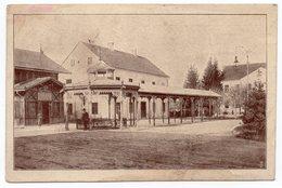 YUGOSLAVIA, SLOVENIA, 1920 SLATINA-RADENCI, TP0 84 HODOS-MARIBOR, SENT TO ZAGREB , REAR - Slovenia