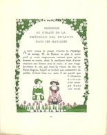 """3421 """"DA GAZETTE DU BON TON (PUBBL.1912/1925)""""PRESENCE ET UTILITE' DE LA PRESENCE DES ENFANTS....- PAG.201/PAG.204-ORIG. - Libri, Riviste, Fumetti"""
