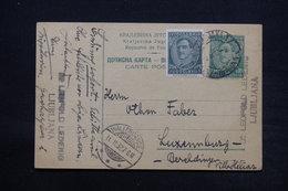YOUGOSLAVIE - Entier Postal + Complément De Ljubljana Pour Luxembourg En 1932 - L 28112 - Postal Stationery