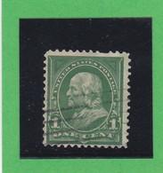 Etats-Unis  N°123   - 1898-99 -  B. FRANKLIN  - Oblitérés - 1847-99 Emissions Générales