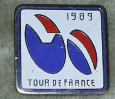 Rare Grand  Pin's Cyclisme Tour De France 1989 - Ciclismo
