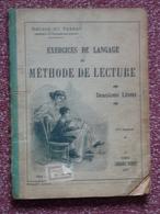 Exercices De Langage, Méthode De Lecture, Delage & Vernay, 1938, Illustré - Livres, BD, Revues