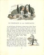 """3422 """"DA GAZETTE DU BON TON (PUBBL.1912/1925)""""LE MARIAGE A LA CAMPAGNE- PAG.193/PAG.196-ORIG. - 1900 - 1949"""
