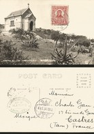 J) 1913 MEXICO, POSTCARD, JUAN ALDAMA, CERRO OF BELLS QUERETARO, AIRMAIL, CIRCULATED COVER, FROM MEXICO TO FRANCE - Mexique