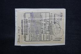 ALLEMAGNE - Étiquette De Livraison Pour Berlin En 1932 - L 28113 - Briefe U. Dokumente