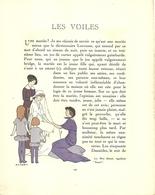 """3423 """"DA GAZETTE DU BON TON (PUBBL.1912/1925)""""LES VOILES- PAG.197/PAG.200-ORIG. - Libri, Riviste, Fumetti"""