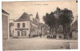 CPA Artix La Place Hôtel Saint Jean St 64 Pyrénées Atlantiques - France