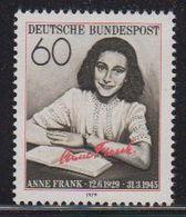 Germany 1979 Anne Frank 1v ** Mnh (42578) - [7] West-Duitsland