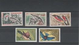 Niger Yvert 190 à 192 + 321 Et 322 ** Sans Charnière - Oiseaux - Niger (1960-...)