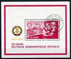 DDR Michel-Nr. Block 78 Vollstempel - Blocchi