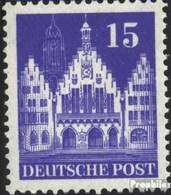 Bizonale (Allied Cast) 82b W Un Oblitéré 1948 Bâtiments - Bizone