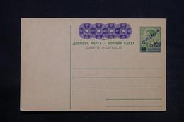 YOUGOSLAVIE - Entier Postal Surchargé Non Circulé - L 28118 - Postal Stationery