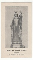 Santino Antico Madonna Della Pumice Da Ravello - Salerno - Religion & Esotericism