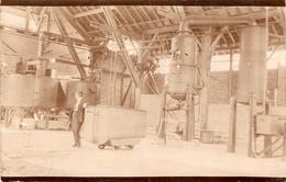 Bonne Cpa Des Landes, Carte-photo D'intérieur D'usine, Habas Ou Lesperon (40), Vers 1920, Dos Vierge - Sonstige Gemeinden